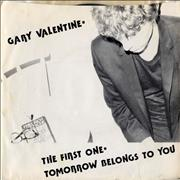 Click here for more info about 'Gary Valentine - The First One'