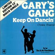 Click here for more info about 'Gary's Gang - Keep On Dancin''