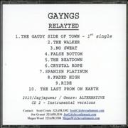 Click here for more info about 'Gayngs - Relayted + Instrumentals'