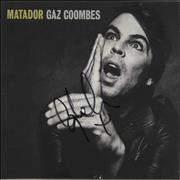 Click here for more info about 'Gaz Coombes - Matador - Autographed'