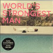 Click here for more info about 'Gaz Coombes - World's Strongest Man - Pink Vinyl - Sealed'