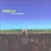 Click here for more info about 'Geddy Lee - My Favorite Headache'