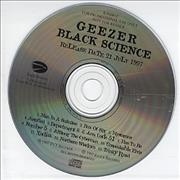 Click here for more info about 'Geezer - Black Science'