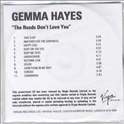 Click here for more info about 'Gemma Hayes - The Roads Don't Love You'