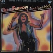 Click here for more info about 'Gene Farrow - Move Your Body + signed promo photo'