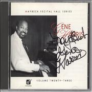 Click here for more info about 'Gene Harris - At Maybeck - Autographed'