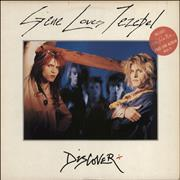 Click here for more info about 'Gene Loves Jezebel - Discover + Glad To Be Alive LP - Stickered sleeve'