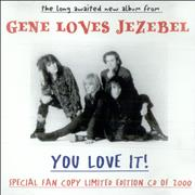 Click here for more info about 'Gene Loves Jezebel - You Love It! - Special Fan Copy'