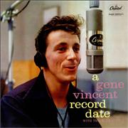 Click here for more info about 'Gene Vincent - A Gene Vincent Record Date - 180gm'