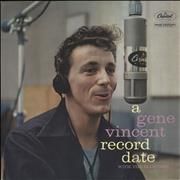 Click here for more info about 'Gene Vincent - A Gene Vincent Record Date - 1st'
