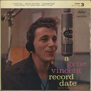 Click here for more info about 'Gene Vincent - A Gene Vincent Record Date EP - Part 3'