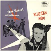 Click here for more info about 'Gene Vincent - Bluejean Bop! - Rainbow Rim'