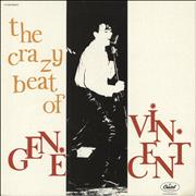 Click here for more info about 'Gene Vincent - The Crazy Beat Of Gene Vincent'