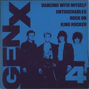 Click here for more info about 'Generation X - 4 EP - Clear Vinyl + Sleeve'