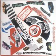 Click here for more info about 'Generation X - Your Generation - Punk Art sleeve'