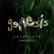 Click here for more info about 'Genesis - 1970-1975 Sampler CD'