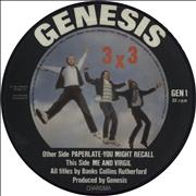 Click here for more info about 'Genesis - 3 x 3 EP - Mispress'