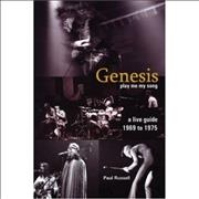 Click here for more info about 'Genesis - A Live Guide 1969 - 1974'