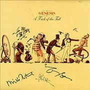 Click here for more info about 'Genesis - A Trick Of The Tail - Autographed'