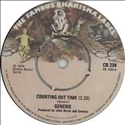 "Genesis Counting Out Time UK 7"" vinyl"