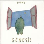 Click here for more info about 'Genesis - Duke - Clear Vinyl + Shrinkwrap'