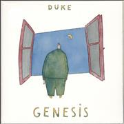Click here for more info about 'Genesis - Duke - Clear Vinyl - Sealed'
