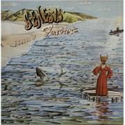 Genesis Foxtrot - Blue Label - EX UK vinyl LP