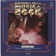 Genesis Historia De La Musica Rock Spain vinyl LP
