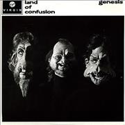 "Genesis Land Of Confusion + Sleeve UK 7"" vinyl"