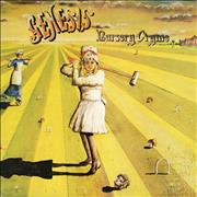 Click here for more info about 'Nursery Cryme - Pink Scroll - EX'