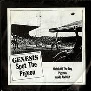 "Genesis Spot The Pigeon EP - P/S UK 7"" vinyl"