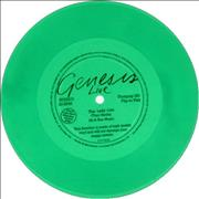 Click here for more info about 'Genesis - The Lady Lies - Green Flexi'