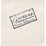Genesis Three Sides Live Netherlands 2-LP vinyl set