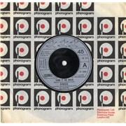 """Genesis Turn It On Again UK 7"""" vinyl"""