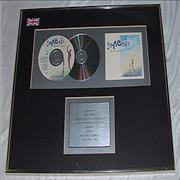 Click here for more info about 'Genesis - We Can't Dance - double platinum CD award'
