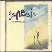 Click here for more info about 'Genesis - We Can't Dance'