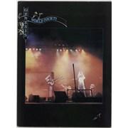 Genesis World Tour 1977 + Ticket Stubs UK tour programme