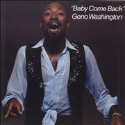Click here for more info about 'Geno Washington - Baby Come Back'