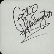 Click here for more info about 'Geno Washington - Page Of An Autograph Book'