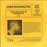 Click here for more info about 'Geno Washington - Your Love Keeps On Haunting Me'