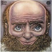 Gentle Giant Gentle Giant - 2nd - Spaceship label UK vinyl LP