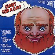 Gentle Giant Giant For A Day USA vinyl LP