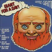 Gentle Giant Giant For A Day! France vinyl LP
