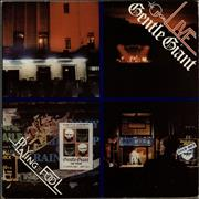 Gentle Giant Live - Playing The Fool - 1st + Booklet UK 2-LP vinyl set