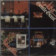 Gentle Giant Live - Playing The Fool USA 2-LP vinyl set