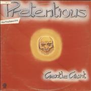 Gentle Giant Pretentious For The Sake Of It - VG UK 2-LP vinyl set