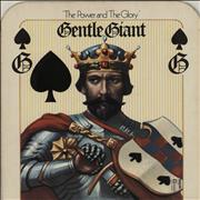 Click here for more info about 'Gentle Giant - The Power And The Glory + Insert - EX'