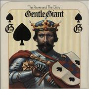 Click here for more info about 'Gentle Giant - The Power And The Glory + Insert'