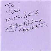 Click here for more info about 'Geordie - Pages From An Autograph Book'