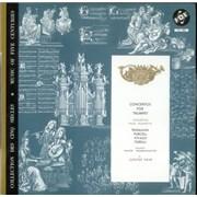 Georg Philipp Telemann Concertos for Trumpet France vinyl LP